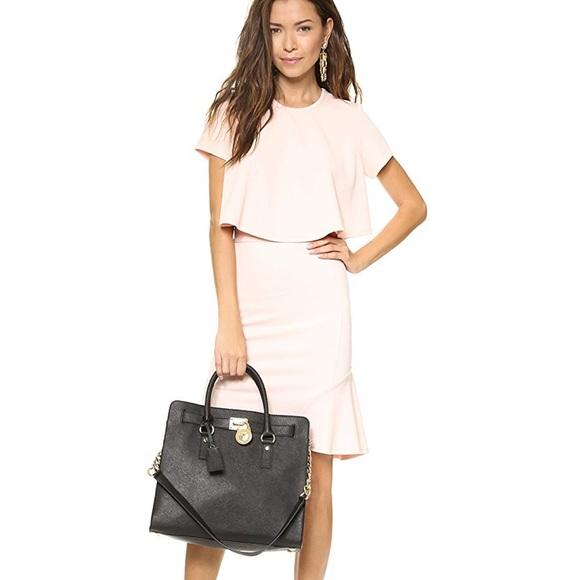 Michael Kors Handbags - Michael Kors Large Hamilton Purse Black